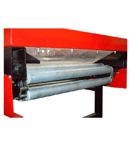 Garlic Powered Roller Conveyor | USA Garlic Machinery